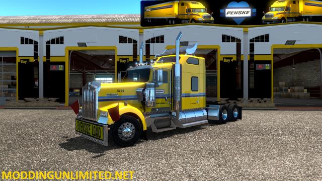 ATS Penske Large Garage w/Truck