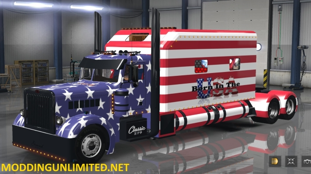ATS General 379 Born in the USA Skin