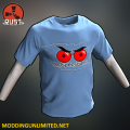 RUST Red Spec Gaming T-Shirt