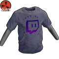 RUST Twitch Smile Tee