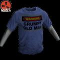 Rust Grumpy Old Man Tee